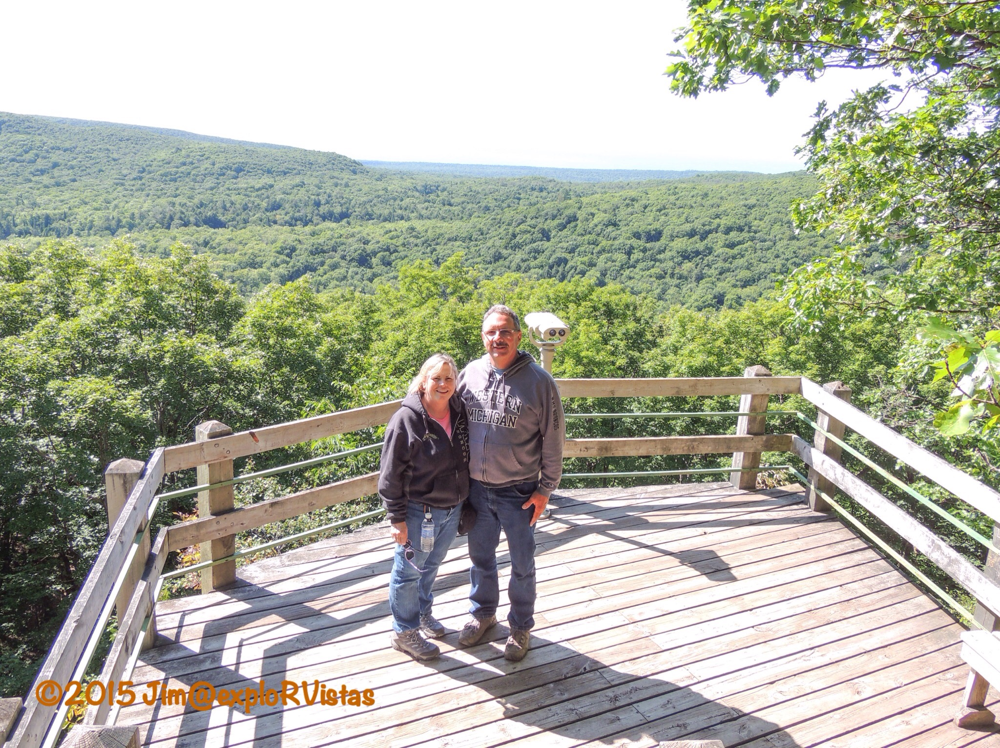 Mt curwood explorvistas two thirds of the way up we came to the lake superior overlook publicscrutiny Image collections