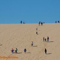 A Perfect Autumn Day at Sleeping Bear Dunes