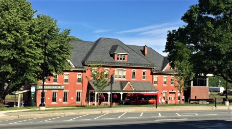 St. Johnsbury Welcome Center in the old train depot.