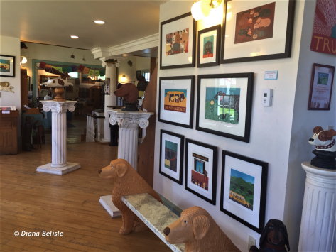 Gallery at Dog Mountain, near St Johnsbury, VT
