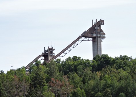 Lake Placid Olympic ski jumps