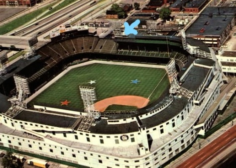 Tiger Stadium at All Star Time Detroit