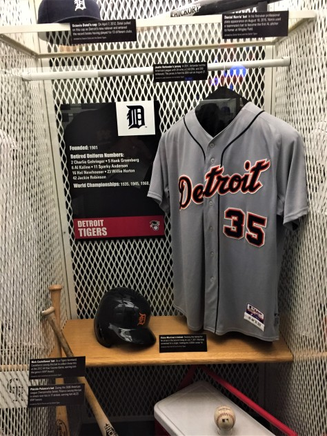 Tigers locker