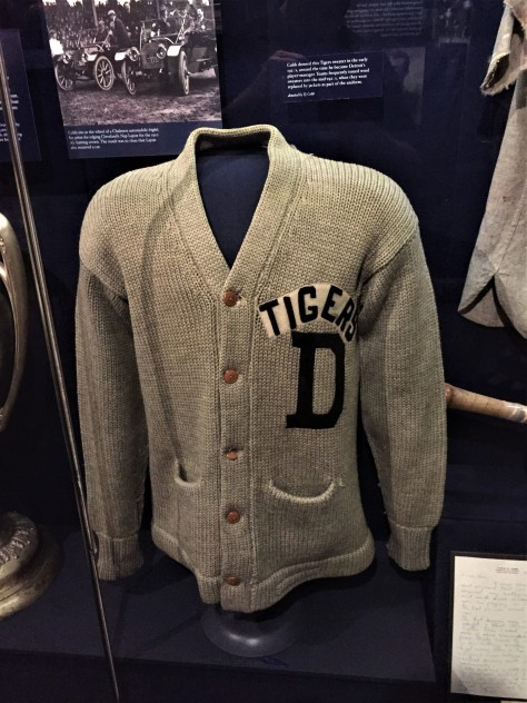 Ty Cobb sweater
