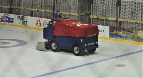 Zamboni at Lake Placid Olympic Ice Center